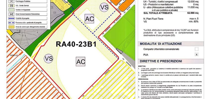 La scheda dell'area CATTOLICA CENTER è stata pubblicata