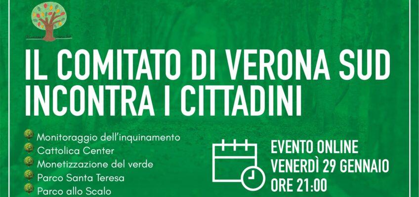 Il Comitato di Verona Sud incontra i cittadini